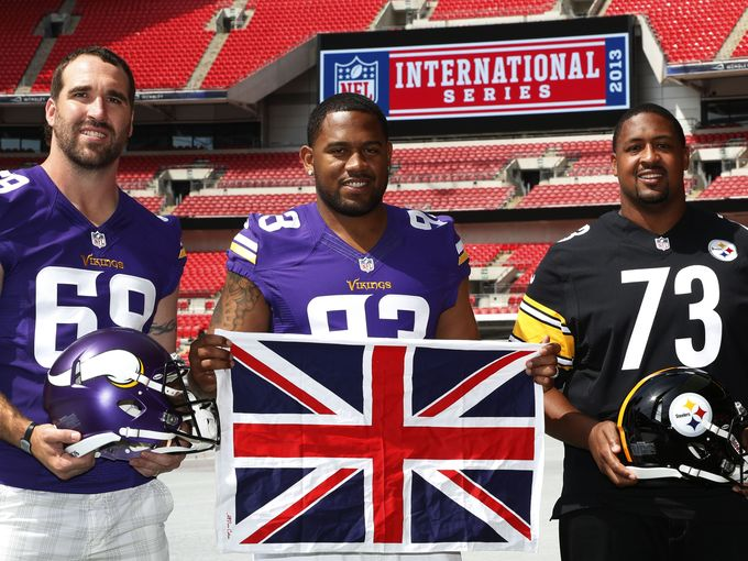 Minnesota Vikings at Wembley Stadium in London