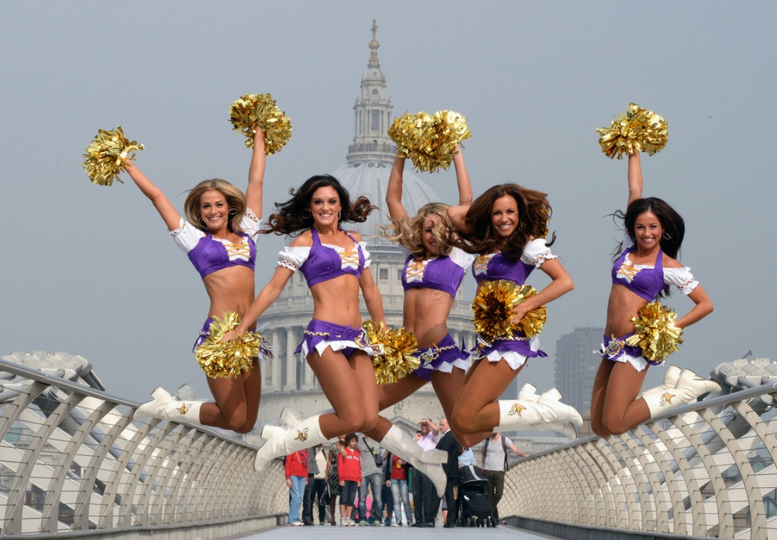 Minnesota Vikings Cheerleaders in London